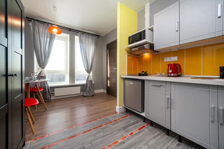 Квартира с дизайнерским ремонтом в Саларьево
