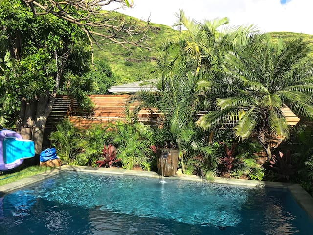 Tropical Home w/t Private Pool Near Hanauma Bay
