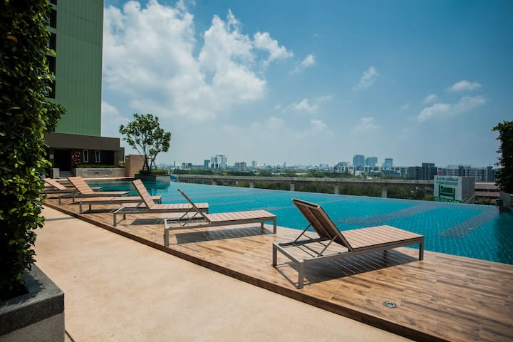 Studio Condo near Train/airport - Bangkok - Ortak mülk