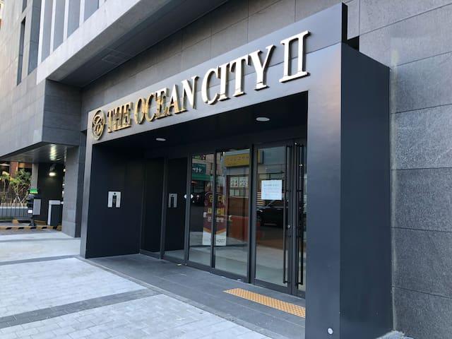 济州岛市中心高级公寓,离机场5-7分,走路新罗免税店5分钟,保健路5分钟,附近还有24小时大超市