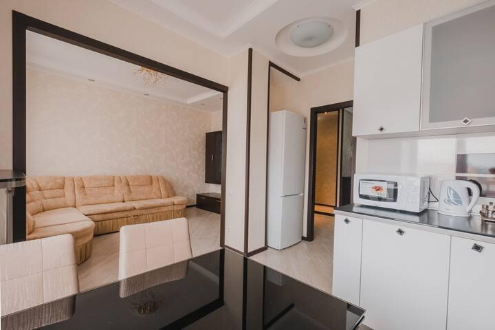 Квартира рядом с Аквапарком РИВЬЕРА
