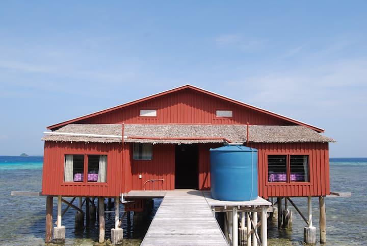 Imagination Island-One Bedroom Over Water Bungalow