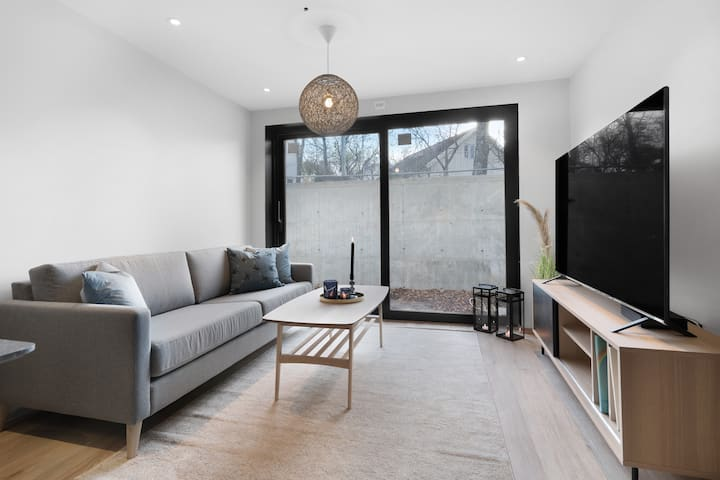 Ny moderne toroms leilighet (B) sentralt i Bodø