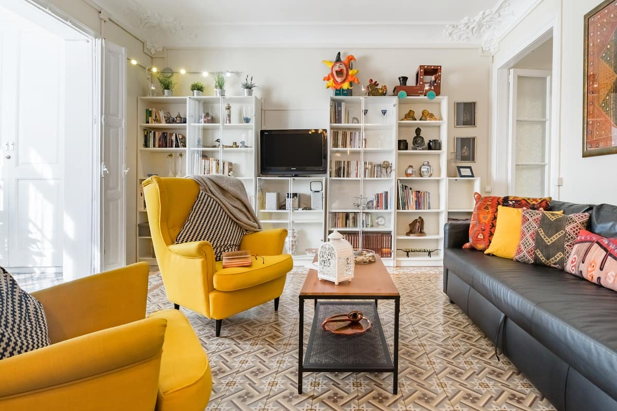 Explore Barcelona From a Cheerful Home