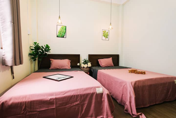 Piglet homestay Room C in Binh Thanh district