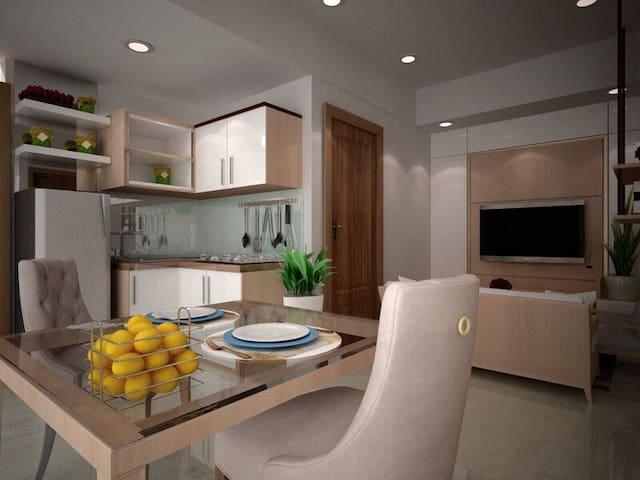 Apartment One Bedroom The Oasis Cikarang