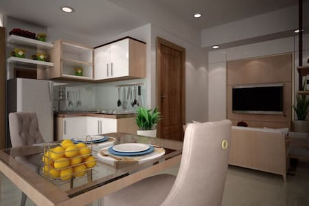 Apartment One Bedroom The Oasis Cikarang