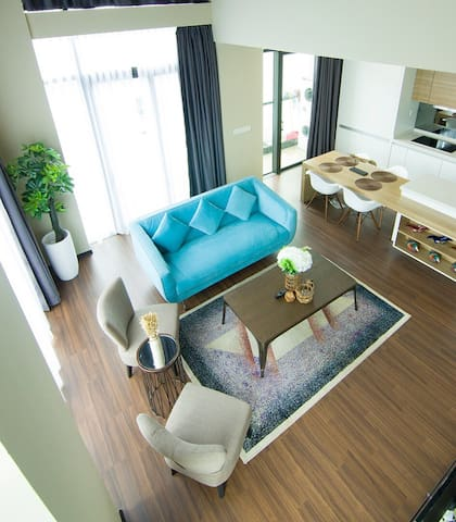 Kota Kinabalu Riverson - THE SOHO Duplex
