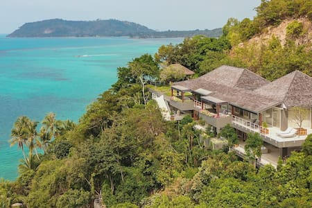 Seaview Element of 8 at Cape Laem Sor Estate, 6BR, Taling Ngam w/ chef