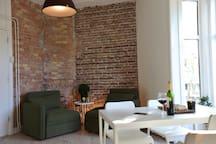 Light & Cozy two-room apartment