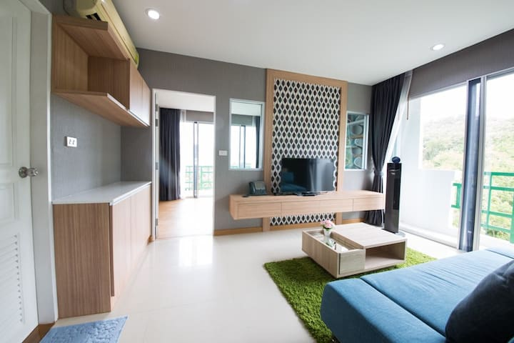 Luxury 2Bedrooms Near PhuketTown&Patong FreeWifi - Phuket - Lägenhet