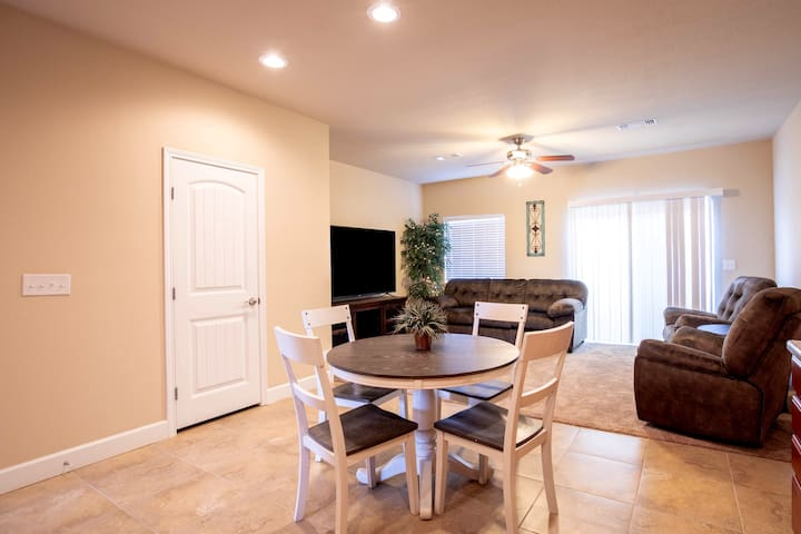 """Home Away from Home - 70"""" TV- Recliners- King Beds"""
