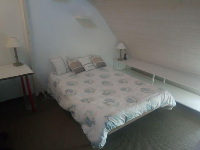 Chambre à Blois idéalement placée, vue magnifique