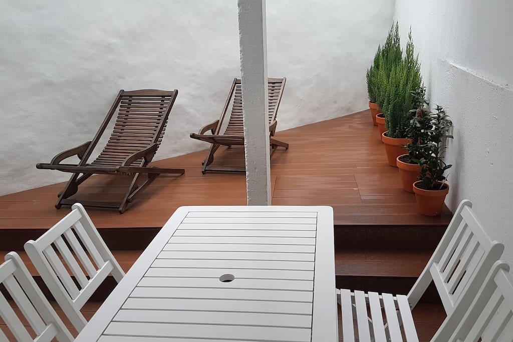Terraço exterior
