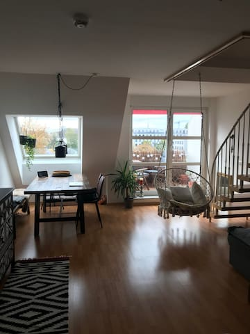 Maisonette 2-Room Apartment with TV Tower View