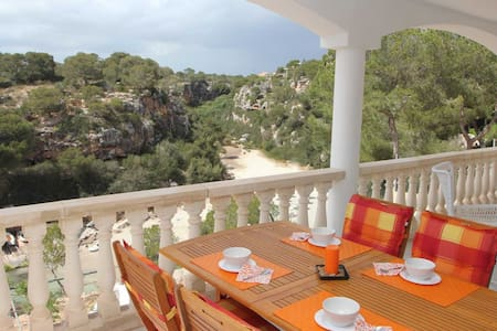 Sea view- apartment, 50 m from the beach access - Cala Pi
