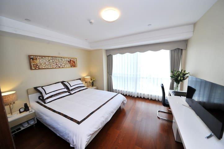 19号领地(豪华湖景大床房) - Xiamen - Apartamento