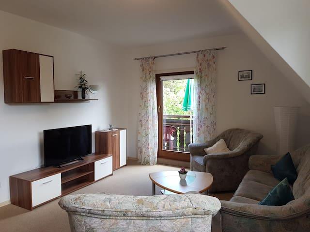 Haus Albblick, (Freudenstadt-Kniebis), Ferienwohnung, 65qm, 2 Schlafzimmer, max. 4 Personen