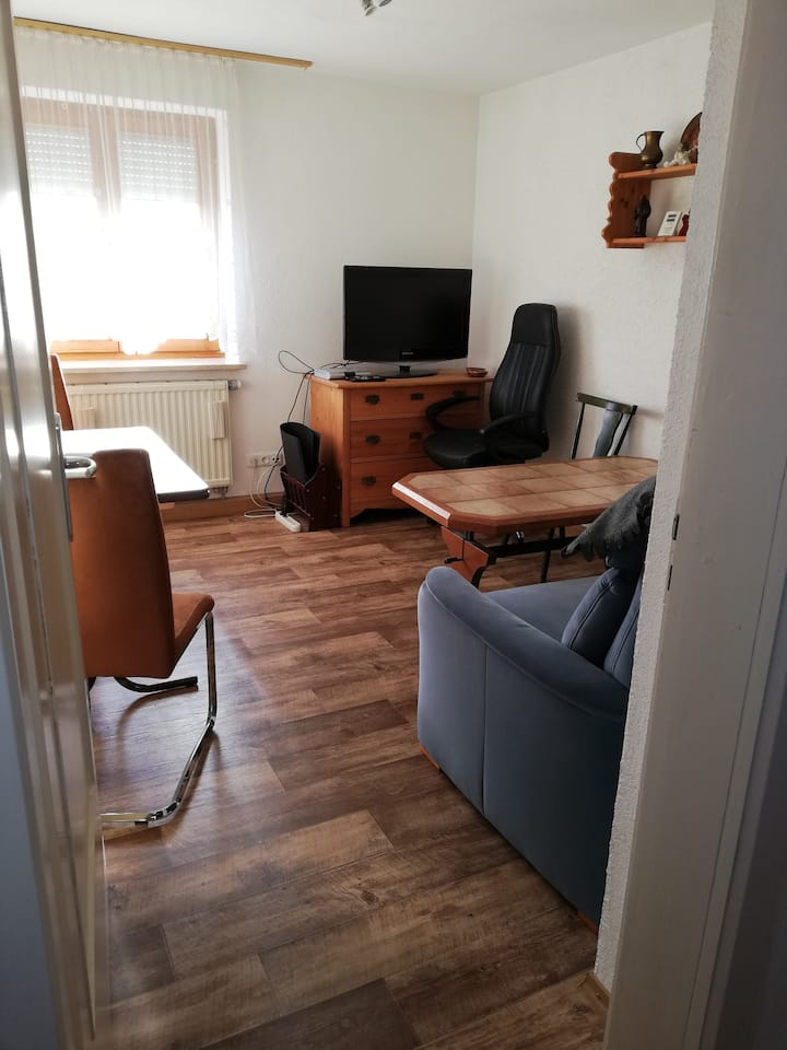Wohnung am Stadtrand: Einzellzimmerbuchung möglich