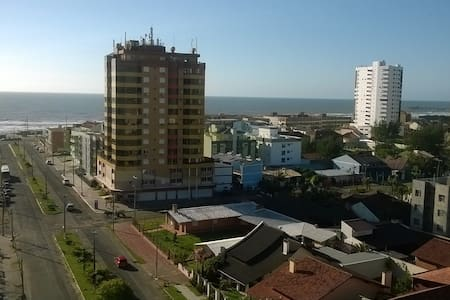 Belíssima vista da cidade e do mar. - Tramandaí