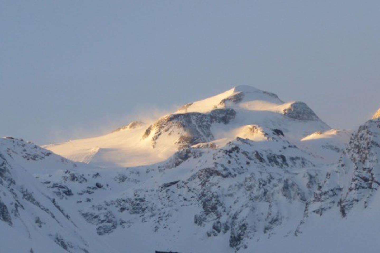 Vue de La Grande Motte en hiver