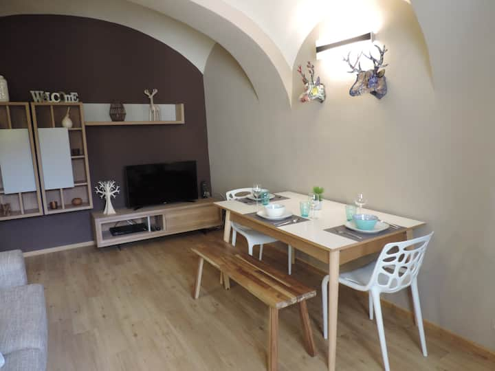 Charming apartment in center of Durbuy-Old-Town...