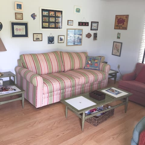 Sunny Rehoboth Beach Cottage. Family Friendly.