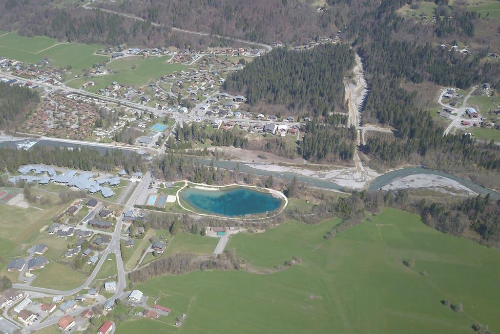 Le lac bleu/Blue Lake
