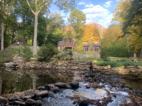 Artist's cottage on scenic river