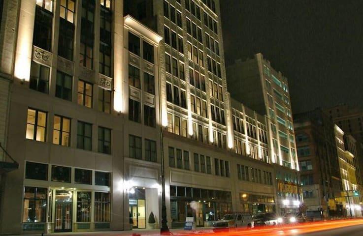 Loft Downtown Detroit MI on Woodward Ave