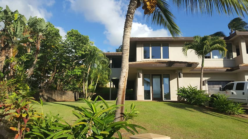 Beautiful modern beach house #1 - Lahaina - Huis