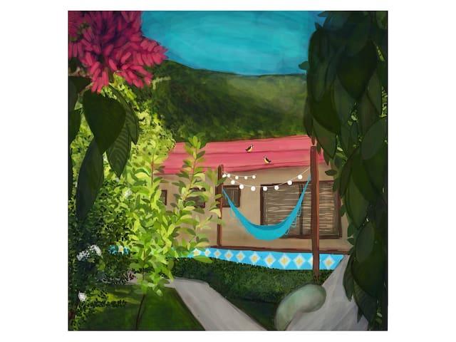 Casa fascinante na Vila do Abraão ;D