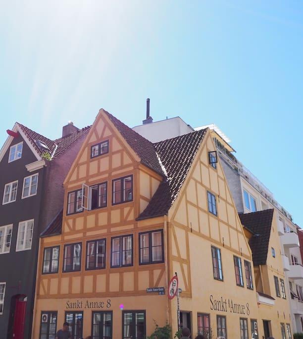 A unique and traditional Copenhagen appartment