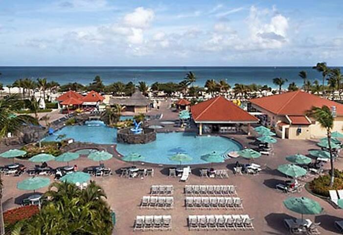 Apartamento 7  noche en Aruba, Eagle Beach