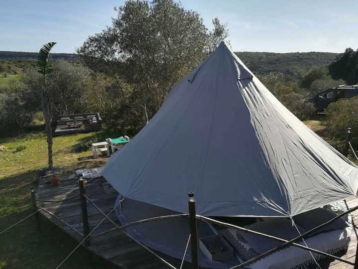 Glamping Endless Summer tipi Nature, self check in