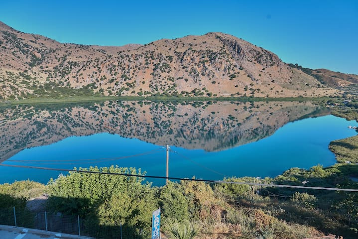 Gorgeous Lake Kournas Villa★Brand New Private Pool