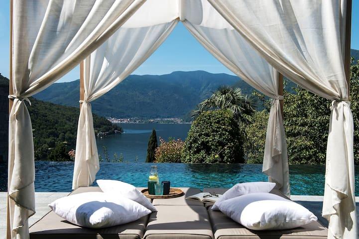 Villa Graziella - Pino sulla Sponda del Lago Maggiore - Hus