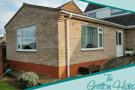 The Gretton Hideaway - Leisure or Business Ready - Gretton - Hus