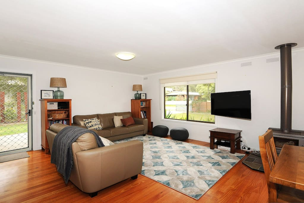 Lots of room in the lounge