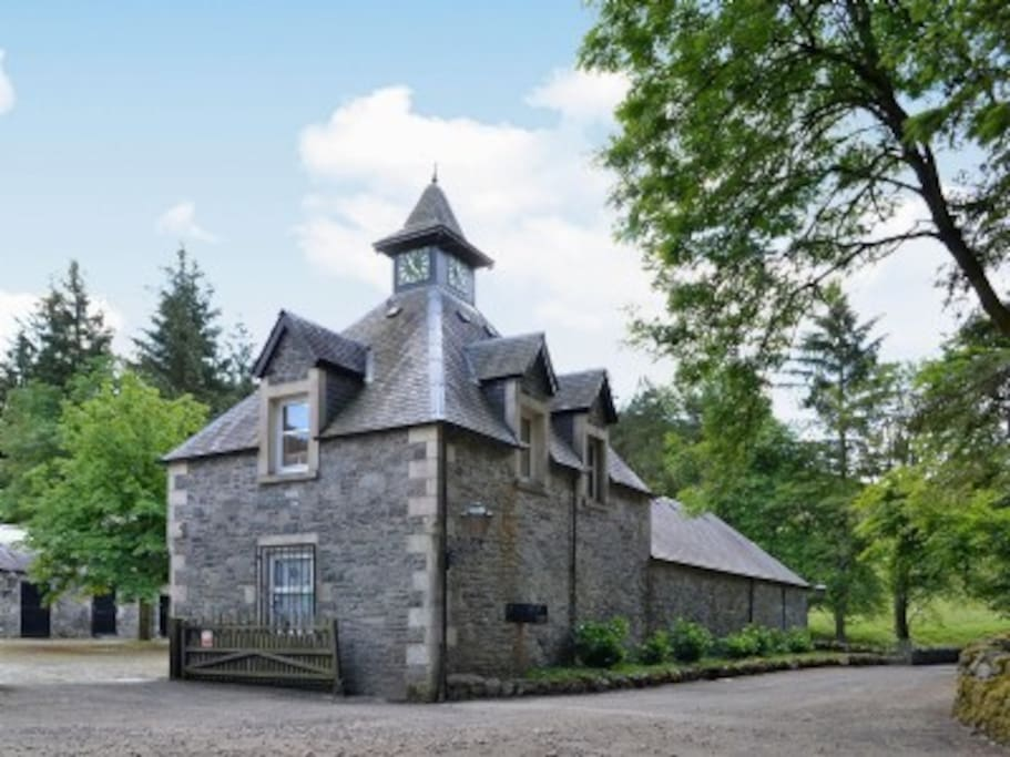 Hearthstanes Steading - Bell Tower