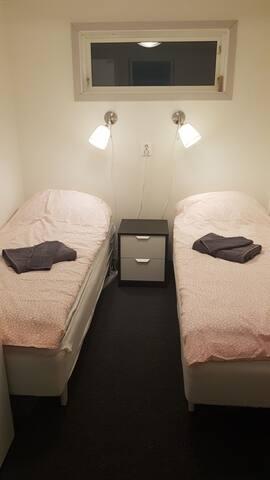 Bedroom 1 (separate beds).