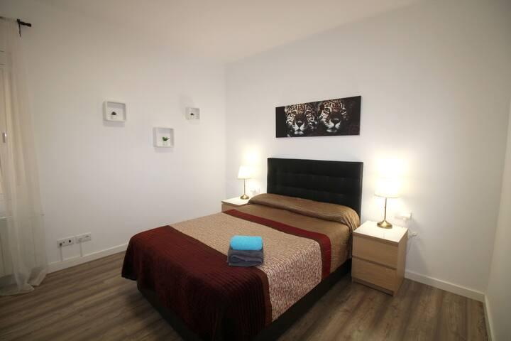 Amplia y cómoda habitación Pl.España