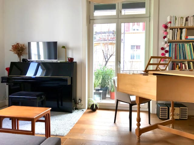 Charming and welcoming apartment in Basel