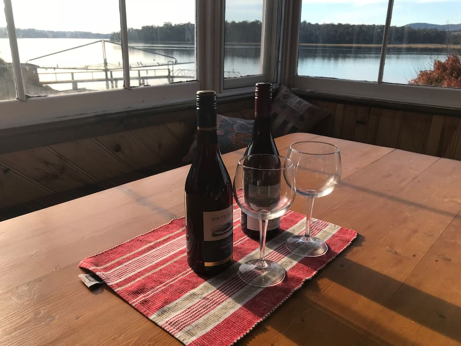 Enjoy a local wine while enjoying the glorious aspect.