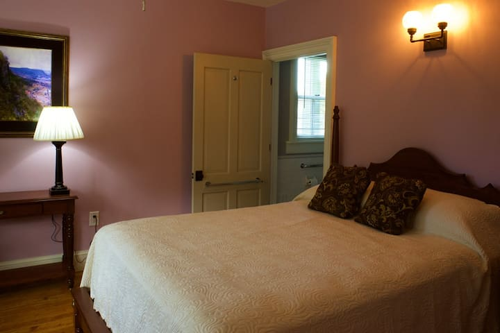The Asher Durand Suite at Danskammer House B&B