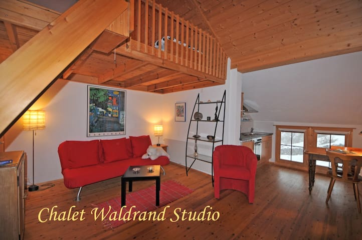 Chalet Waldrand - Merligen - Apartmen