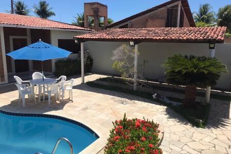 Casa acolhedora na Barra Nova - 10min de Maceió