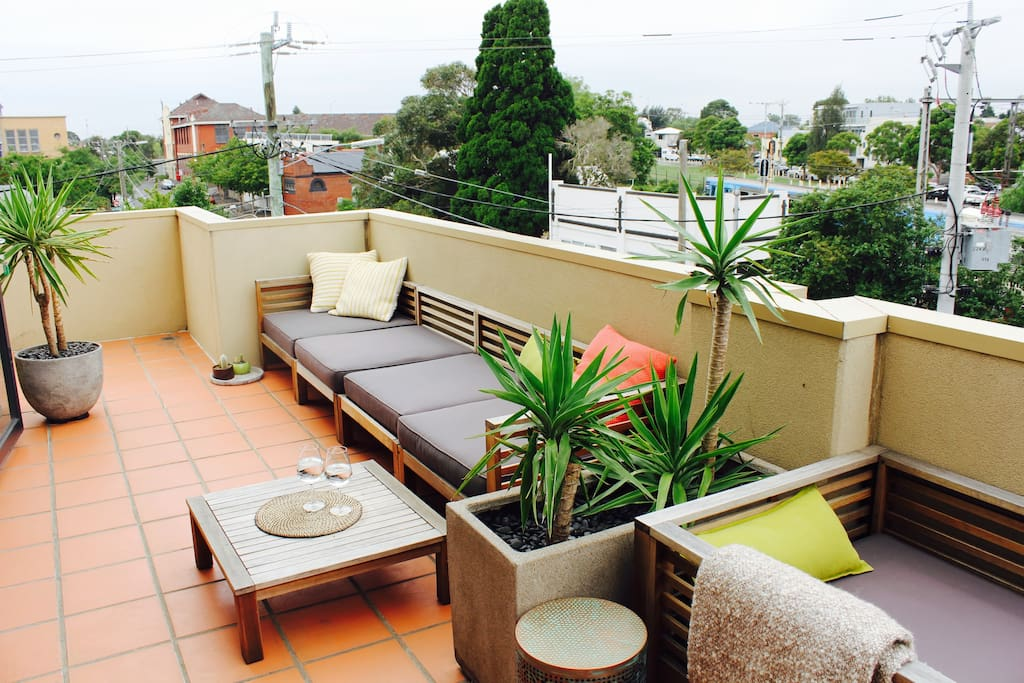 Huge private, wrap around balcony perfect for sunset drinks