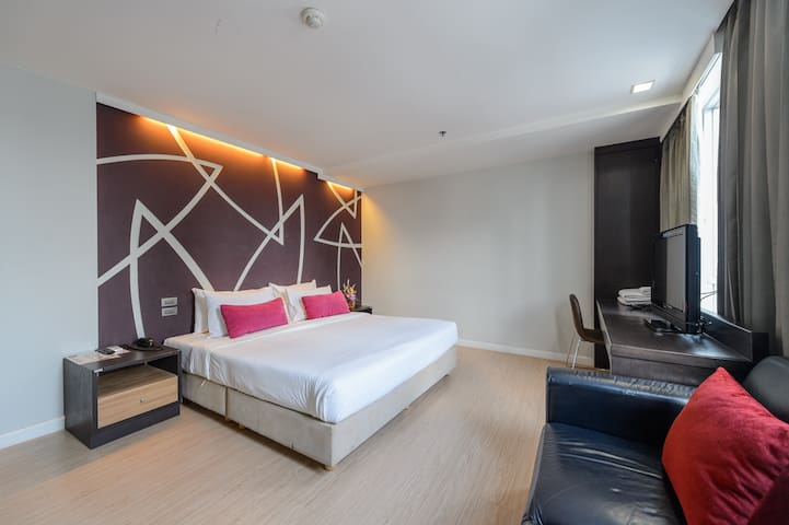 Deluxe Double @ H-Residence Sathorn - Bangkok - Appartement