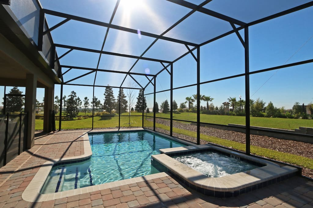 Private Heated Pool & Spa